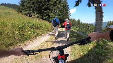 Montagne : la difficile cohabitation entre VTT et randonneurs