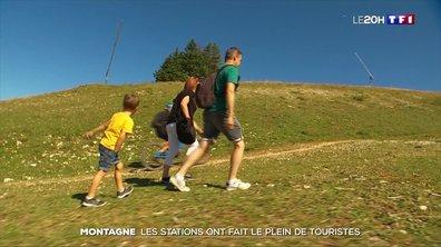 Montagne : les stations ont fait le plein de touristes