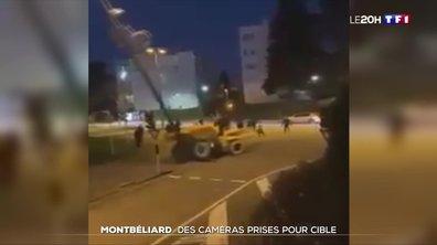 Montbéliard : des caméras de vidéosurveillance détruites par un engin de chantier