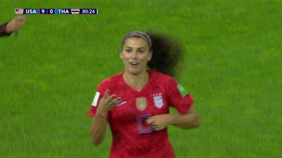 USA - Thaïlande (10-0) : Voir le but de Morgan en vidéo