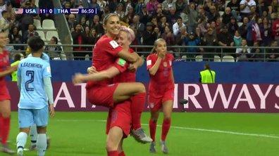 USA - Thaïlande (12-0) : Voir le but de Morgan en vidéo
