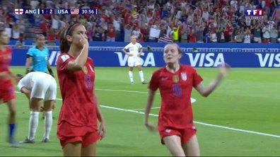 Angleterre - USA (1 - 2) : Voir le but de Morgan en vidéo