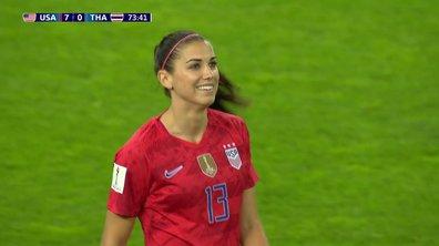 USA - Thaïlande (8-0) : Voir le but de Morgan en vidéo