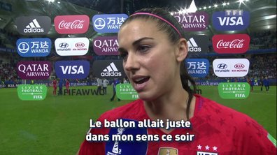 "USA - Alex Morgan : ""Montrer de quoi on est capables"""