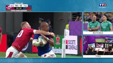 Pays de Galles - France (10 - 12) : Moriarty découpe Fickou et prend un jaune