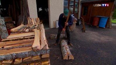 Morillon : les habitants commencent à rentrer le bois