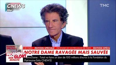 """Morning Glory : """"Notre-Dame ou Aznavour"""" ? Le nouveau jeu signé Jack Lang"""