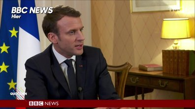 Morning Glory : do you speak english ? Emmanuel Macron English ?