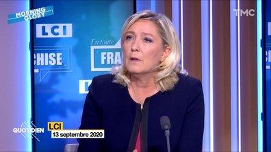 Morning Glory : elle disait quoi Marine Le Pen sur le vaccin obligatoire ?
