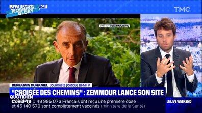 Morning Glory : Éric Zemmour dit merci aux chaînes d'info