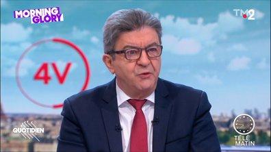 Morning Glory : et si Jean-Luc Mélenchon appliquait ses propres conseils sur les retraites ?