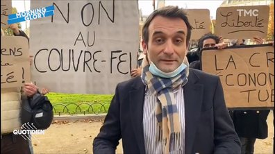 Morning Glory : Florian Philippot n'a QUE 10 soutiens (mais c'est uniquement à cause du Covid hein)