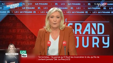Morning Glory : Fun Fact pour ceux qui pensent voter Marine Le Pen en 2022