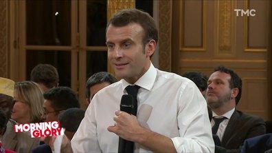 Morning Glory : le gros coup de vieux d'Emmanuel Macron