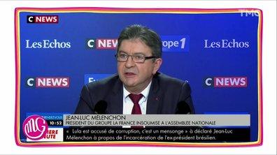 """Morning Glory : quand Jean-Luc Mélenchon est """"poli"""" avec les médias"""