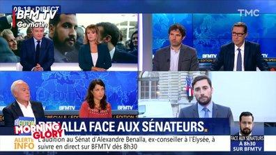 Morning Glory : l'audition d'Alexandre Benalla vue par les chaînes d'info