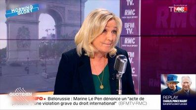 Morning Glory : la très étrange interview de Marine Le Pen chez Bourdin