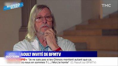 Morning Glory : le club des journalistes qui aiment se faire insulter par Didier Raoult a un nouveau membre