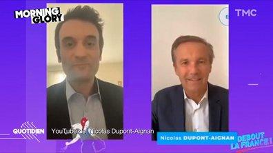 Morning Glory : le génie de l'informatique Nicolas Dupont-Aignan s'est trouvé un copain