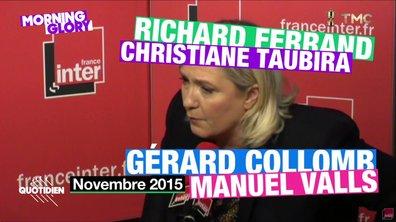 Morning Glory : Marine Le Pen et les démissions