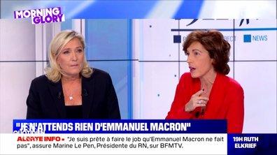 Morning Glory : Marine Le Pen prise en flagrant délit de mensonge