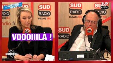 Morning Glory: Marion Le Pen sur Sud Radio, c'est plus un face-à-face mais un côte-à-côte