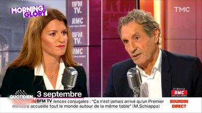 Morning Glory : Marlène Schiappa évite toutes les questions (et ça agace Bourdin)