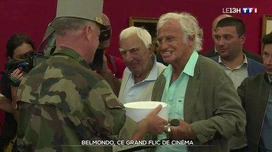 Mort de Belmondo : les forces de l'ordre s'inclinent
