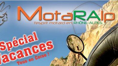 Magazine moto : Motaralp n°4 part en Corse !