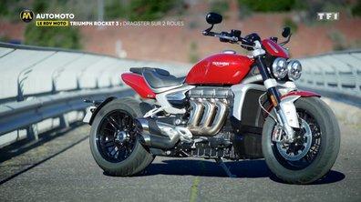Triumph Rocket 3 : Dragster sur deux roues