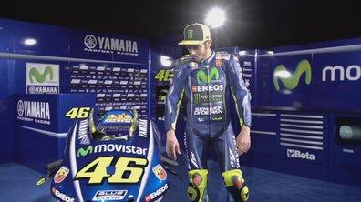 MotoGP 2017 : Valentino Rossi découvre la nouvelle YZR-M1