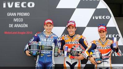 MotoGP - Aragon 2013 : la grille de départ