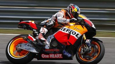MotoGP - France : Pedrosa en pole position devant Stoner