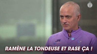 Le mystère de la semaine : la boule à Z de José Mourinho