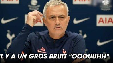 VIDEO - Mourinho tacle Liverpool... et trolle une journaliste avec sa machine à laver