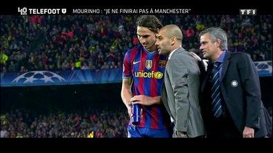 """[EXCLU Téléfoot 15/10] - Mourinho évoque sa non-arrivée au Barça en 2008 : """"Un jour peut-être, je dirai la vérité"""""""