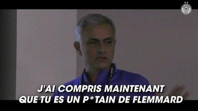 VIDEO - Le show Mourinho dans les vestiaires de Tottenham