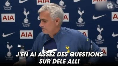 VIDEO - Mourinho n'en peut plus des rumeurs sur Dele Alli