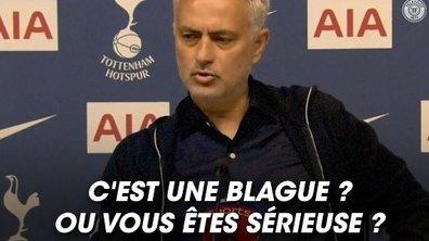 VIDEO - Quand Mourinho se la joue Al Pacino en conf'