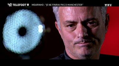 """[EXCLU Téléfoot 15/10] - Mourinho : """"Je ne vais pas terminer ma carrière à Manchester United"""""""