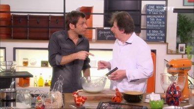 Mousse au chocolat blanc avec Jacques Genin