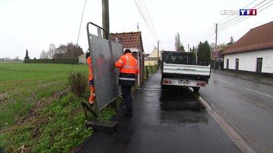 Municipales : l'installation des panneaux électoraux a débuté