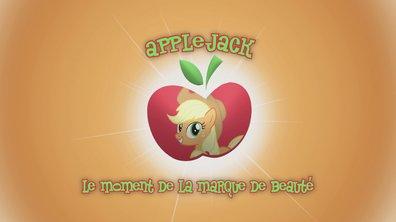 La marque de beauté d'AppleJack