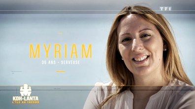 Le portrait de Myriam