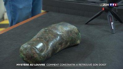 Mystère au Louvre : comment l'empereur Constantin a retrouvé son doigt