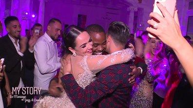 Le célèbre rappeur Sisik créé une chanson unique pour le mariage de Jazz et Laurent