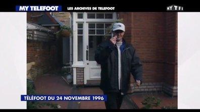 Les archives : Franck Leboeuf arrive à Londres et un fou-rire Bixente Lizarazu