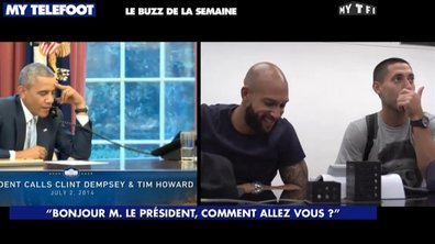 MyTELEFOOT - Le Buzz de la Semaine : Obama appelle Team USA !