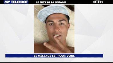 MyTELEFOOT - Le Buzz : Ronaldo se la joue Britney Spears