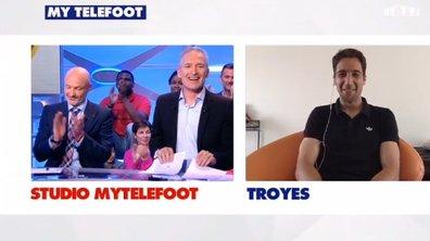 MyTELEFOOT - Troyes en Ligue 1 : duplex avec Thomas Ayasse